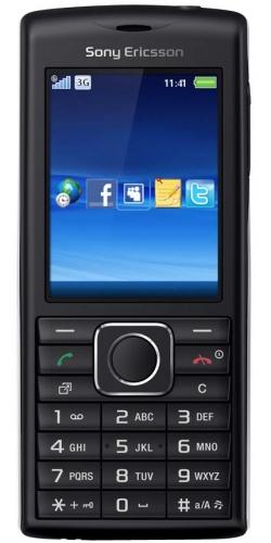 Sony Ericsson J108i Cedar black silver