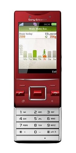 Sony Ericsson J20i Hazel rouge