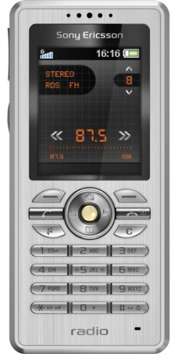 Sony Ericsson R300 steel black