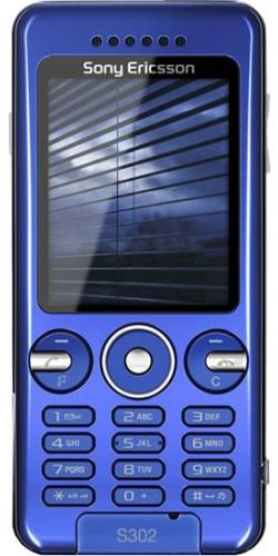 Sony Ericsson S302 crystal blue