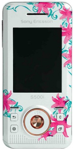 Sony Ericsson S500i flower design