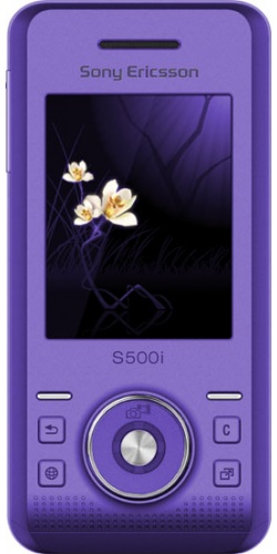 Sony Ericsson S500i ice purple