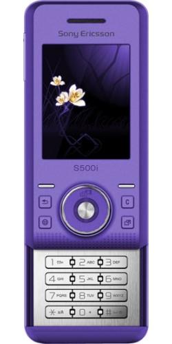 Фото телефона Sony Ericsson S500i ice purple