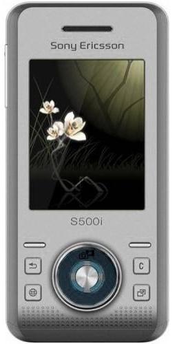 Sony Ericsson S500i silver