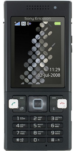 Sony Ericsson T700 shining black