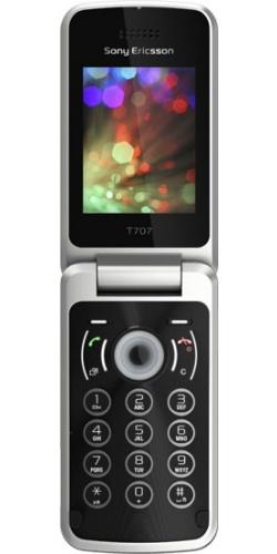 Sony Ericsson T707 mysterious black