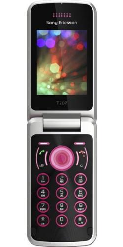 Sony Ericsson T707 spring rose