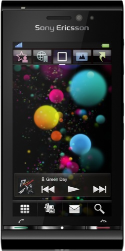 Sony Ericsson U1 Satio black