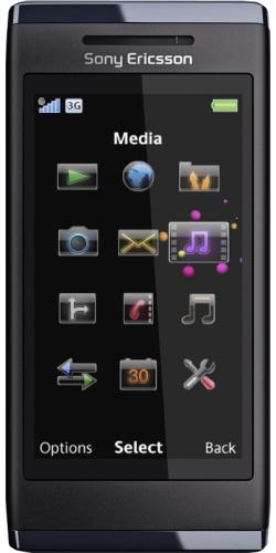 Sony Ericsson U10 Aino black
