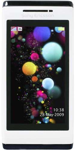 Sony Ericsson U10 Aino white