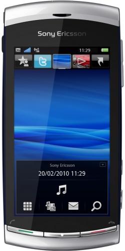 Sony Ericsson U5 Vivaz moon silver