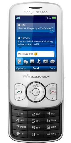 Фото телефона Sony Ericsson W100 Spiro contrast black
