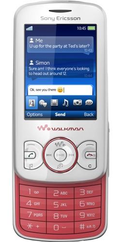 Фото телефона Sony Ericsson W100 Spiro sunset pink