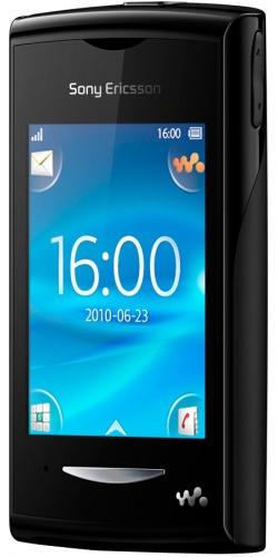 Фото телефона Sony Ericsson W150 Yendo black