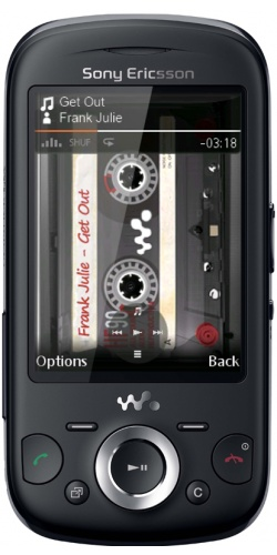 Sony Ericsson W20 Zylo black
