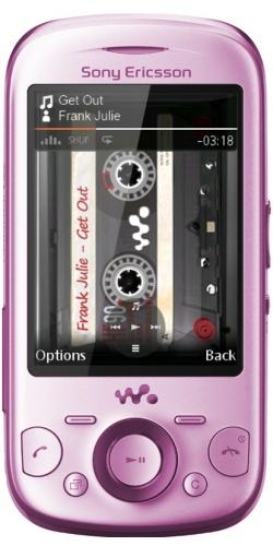 Sony Ericsson W20 Zylo pink