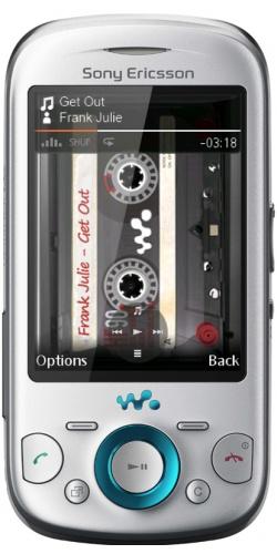 Sony Ericsson W20 Zylo silver