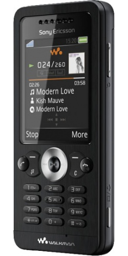 Sony Ericsson W302 midnight black