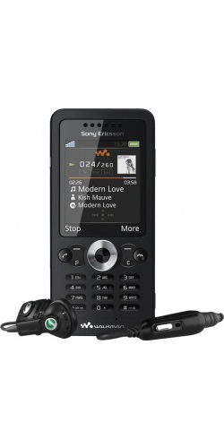 Фото телефона Sony Ericsson W302 midnight black