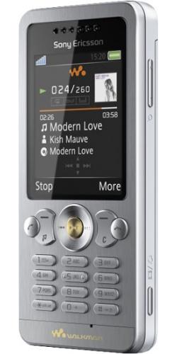 Sony Ericsson W302 sparkling white
