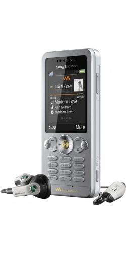 Фото телефона Sony Ericsson W302 sparkling white
