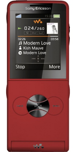 Sony Ericsson W350i turbo red