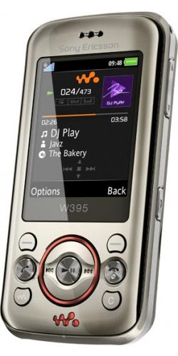 Sony Ericsson W395 blush titanium