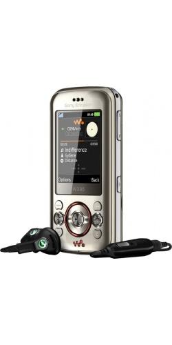 Фото телефона Sony Ericsson W395 blush titanium