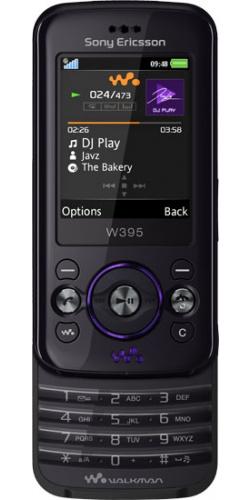 Фото телефона Sony Ericsson W395 dusky grey
