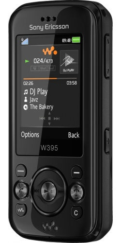 Sony Ericsson W395 fiesta black