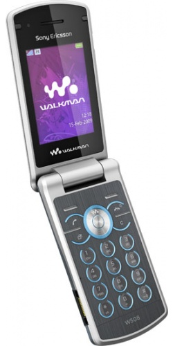 Фото телефона Sony Ericsson W508 metal grey