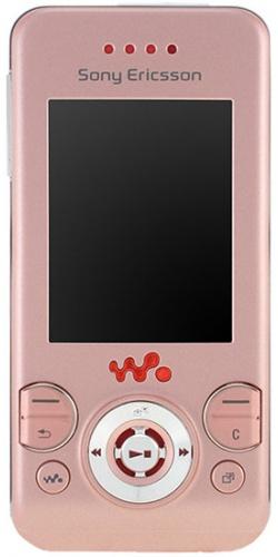 Sony Ericsson W580i pink