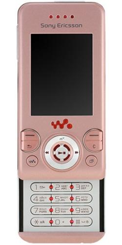 Фото телефона Sony Ericsson W580i pink