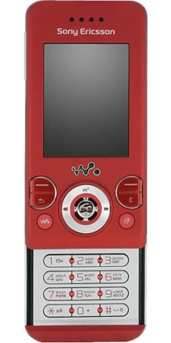 Фото телефона Sony Ericsson W580i velvet red