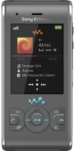 Фото телефона Sony Ericsson W595 jungle grey