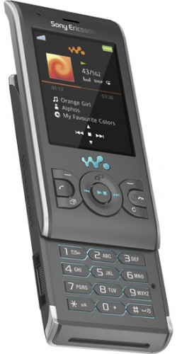 Фото телефона Sony Ericsson W595 jungle grey