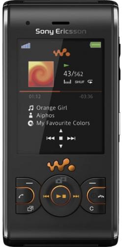Sony Ericsson W595 lava black