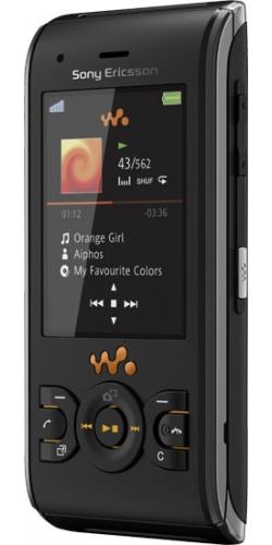 Фото телефона Sony Ericsson W595 lava black