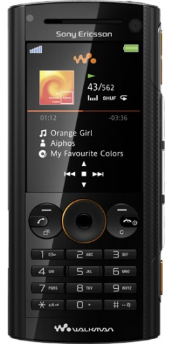 Sony Ericsson W902 volcanic black