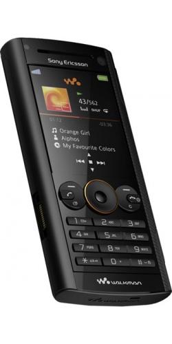 Фото телефона Sony Ericsson W902 volcanic black