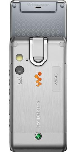Фото телефона Sony Ericsson W995 cosmic silver