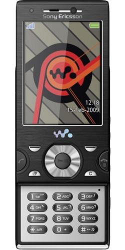 Sony Ericsson W995 progressive black
