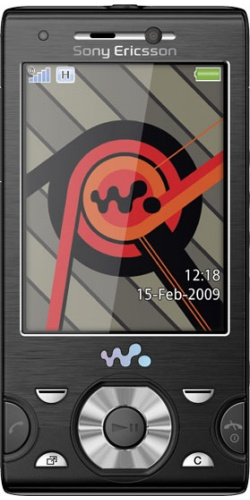 Фото телефона Sony Ericsson W995 progressive black