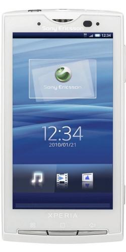 Sony Ericsson X10 XPERIA luster white