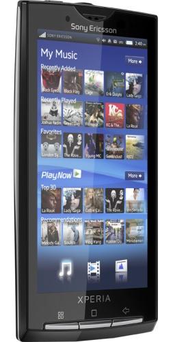 Фото телефона Sony Ericsson X10 XPERIA sensuous black