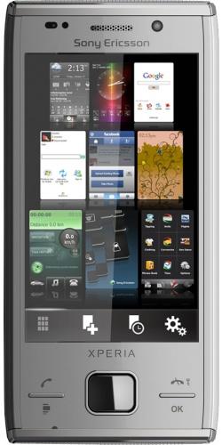 Sony Ericsson X2 XPERIA silver
