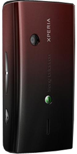 Фото телефона Sony Ericsson X8 XPERIA black red