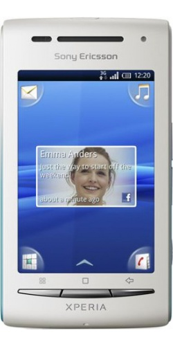Sony Ericsson X8 XPERIA dark blue
