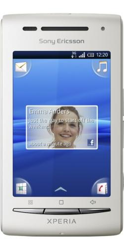 Sony Ericsson X8 XPERIA white