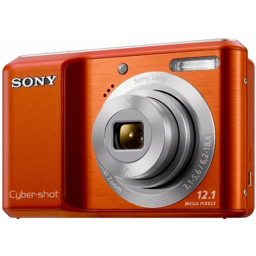 Sony CyberShot DSC-S2100 orange